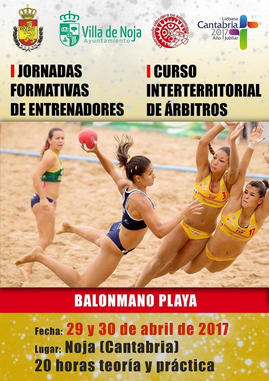 Jornadas formativas de Balonmano Playa en Noja