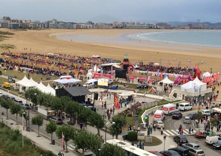 Carta de agradecimiento del Campeonato de España de Balonmano Playa celebrado en Laredo