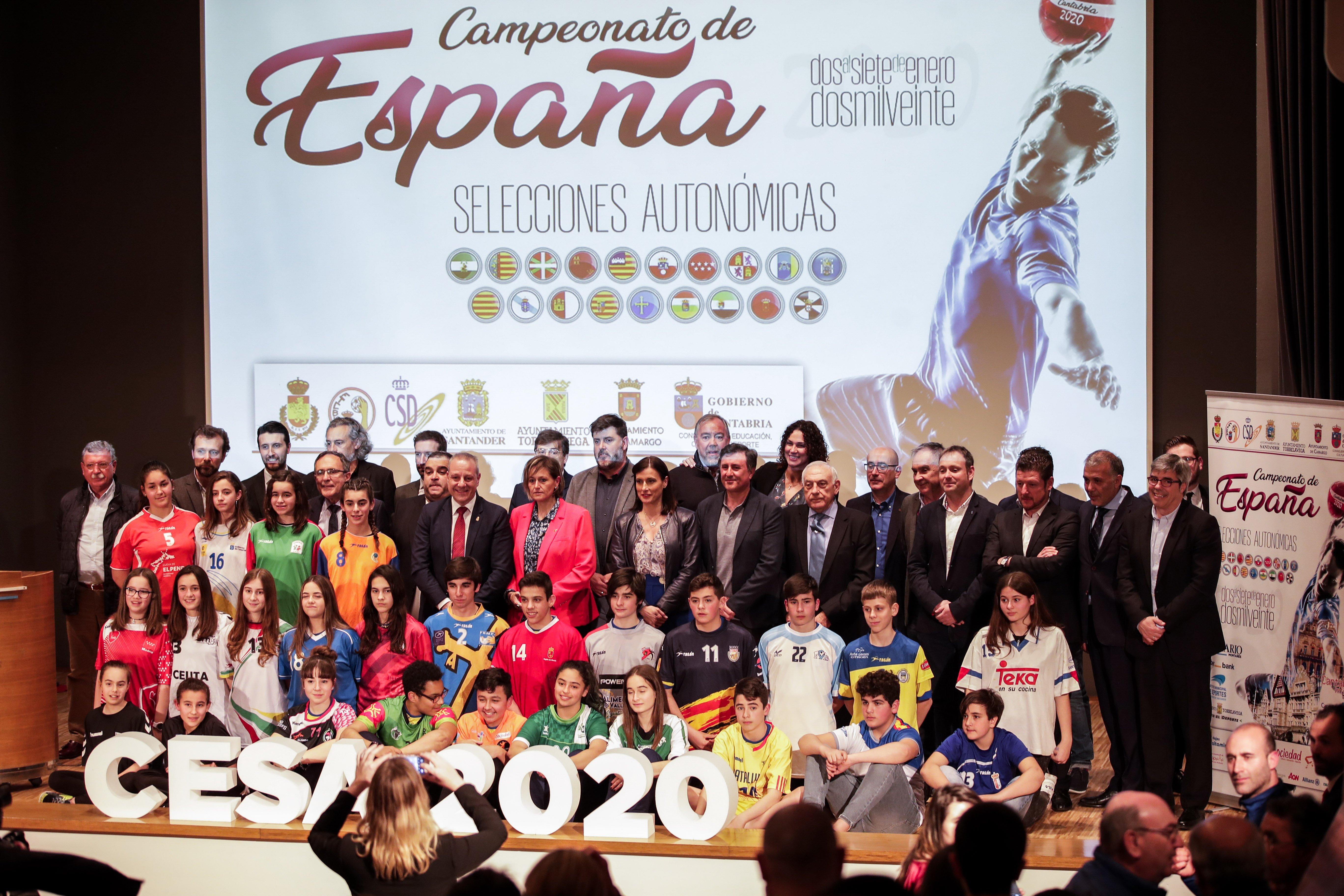 Presentado el CESA 2020 de balonmano