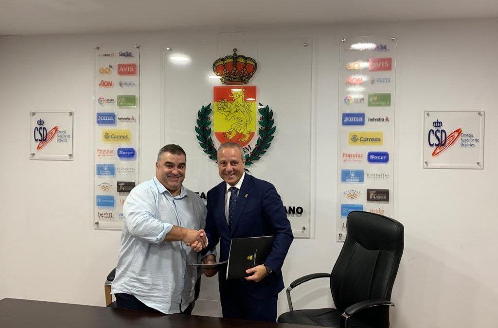 Firmado el convenio del CESA BM 2020 con la RFEBM