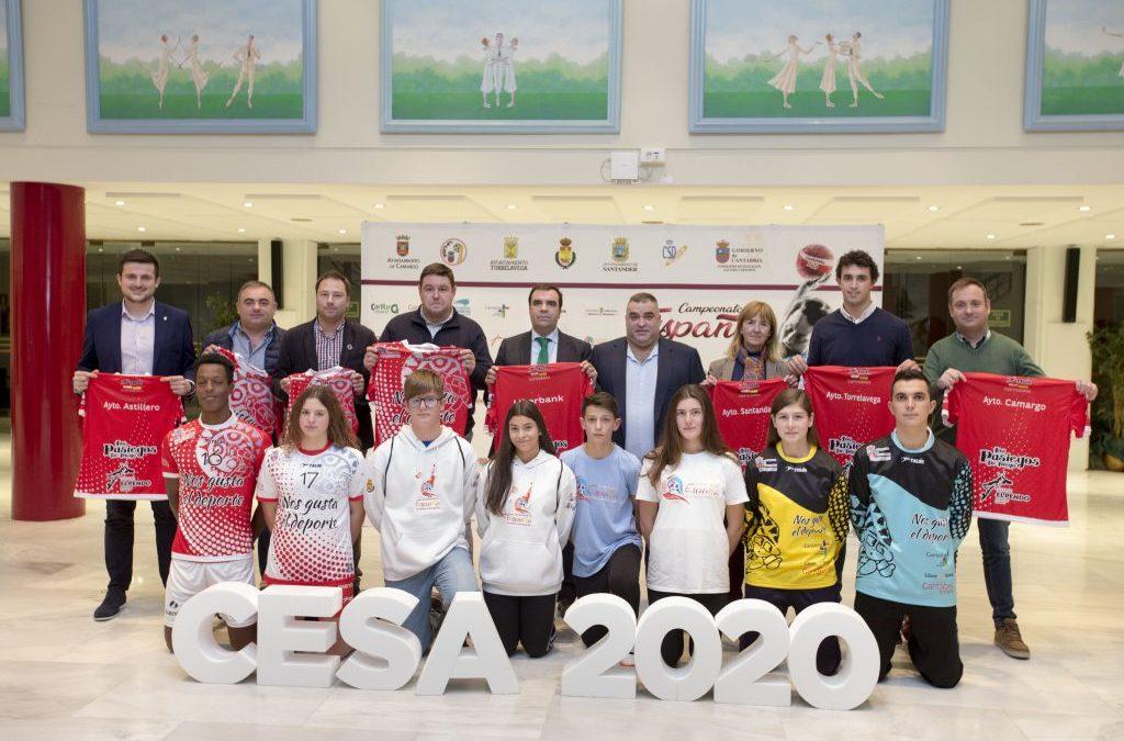 Presentadas las equipaciones de las selecciones para el CESA 2020