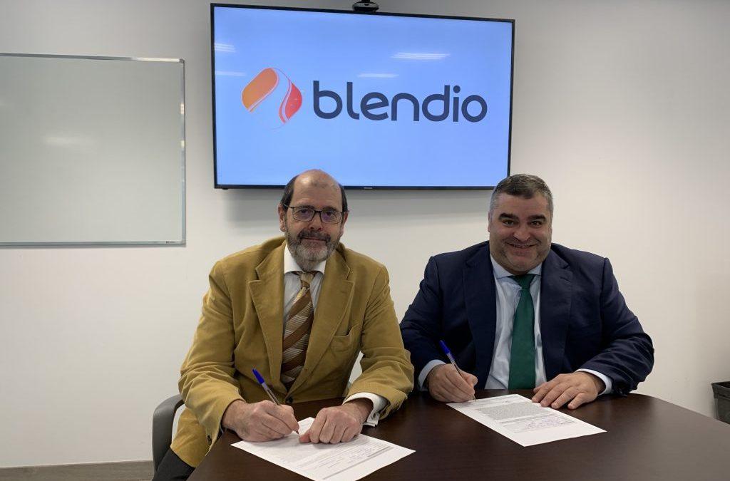La Federación firma un nuevo convenio con el Grupo Blendio