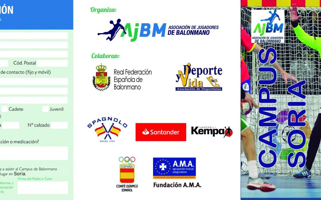 Campus de la Asociación de Jugadores de Balonmano en Soria