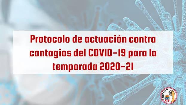 Protocolo de actuación frente al COVID19 para la temporada 2020-21