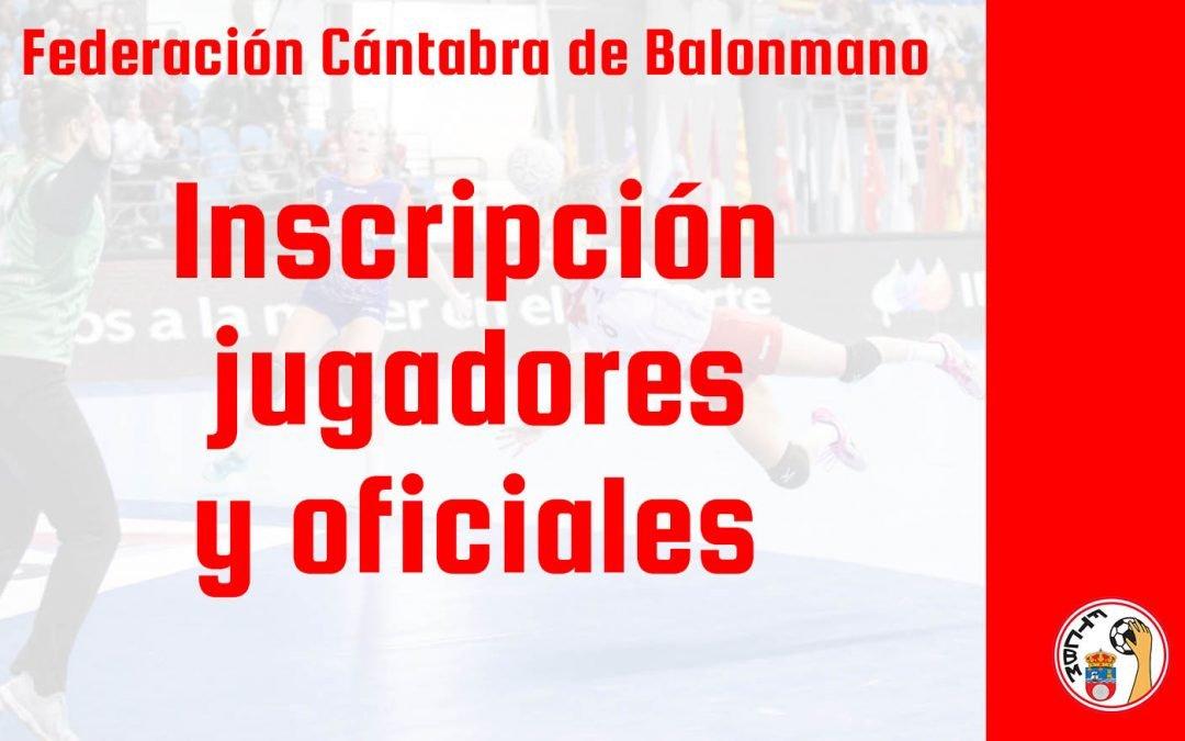 Abierto el plazo para la inscripción de jugadores y técnicos para la temporada 2020-21