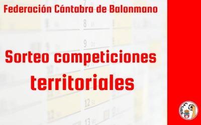Las competiciones territoriales conocerán su calendario este jueves