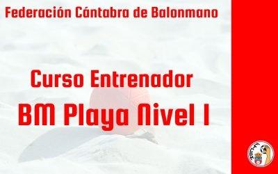 La Federación Cántabra de Balonmano prepara un curso de Entrenador de balonmano playa Nivel 1