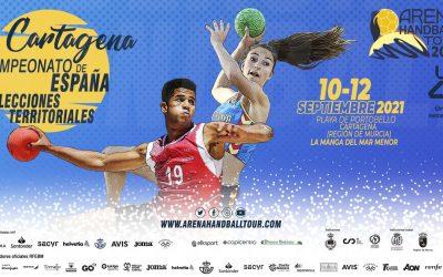 Las selecciones cántabras de balonmano playa ya conocen su destino en el CESA 2021